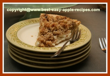 Homemade Sour Cream Apple Pie Recipe