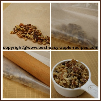 Chopping Whole Nuts for Recipe