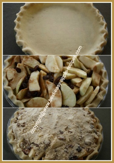 How To Make Apple Crumble Pie
