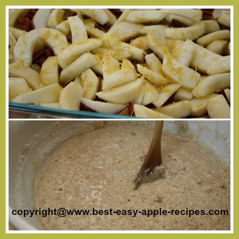 How to Make an Apple Rhubarb Cobbler Recipe