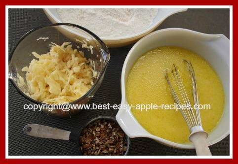 Ingredients for Apple Pancakes
