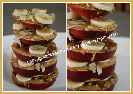 Picture of Kids Apple Snack Idea