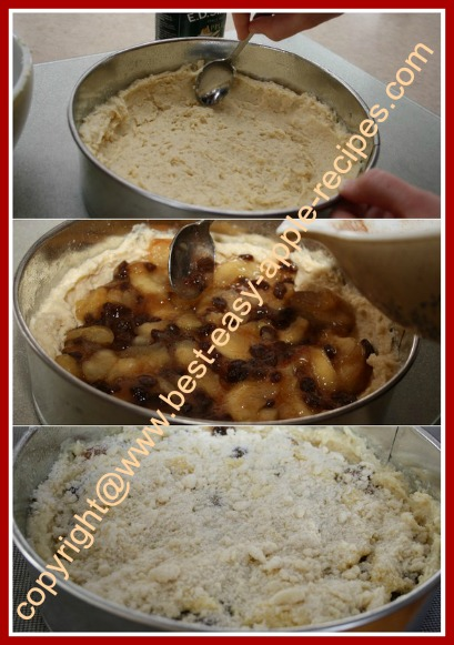 Make Apple Raisin Cake