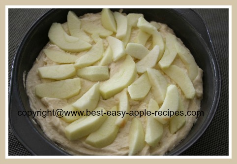 Making Apple Cake