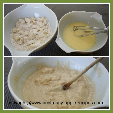 Making Apple Muffins from Scratch