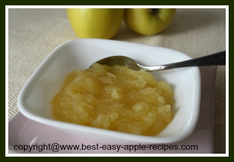 Microwave Applesauce Recipe