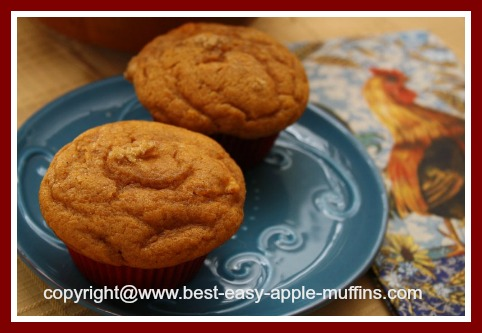 Muffin Recipe for Apple Pumpkin