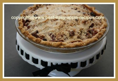 Pennsylvania Dutch Style Apple Pie