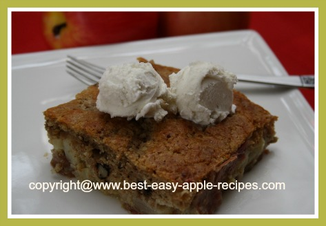 Recipe for Apple Dessert Idea