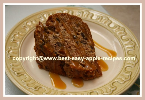 Recipe for Best Applesauce Cake