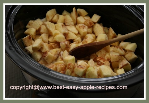 Recipe for Crockpot Applesauce