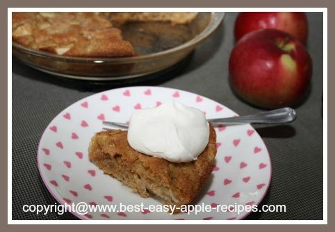 Recipe for Apple Dessert