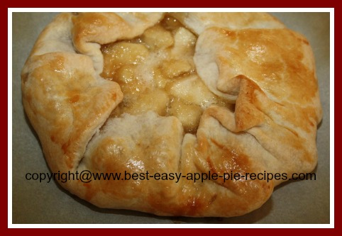 Recipe for Open Face Apple Pie