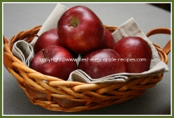 Basket of Apples - How to Keep Apples Fresh / Storing Apples