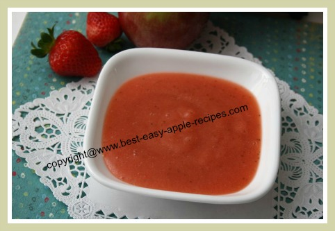 Strawberry Applesauce Recipe