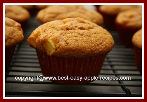Thanksgiving Muffin Recipe Idea Made with Canned Pumpkin Puree