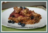 Gluten Free Apple Berry Crumble
