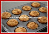 Applesauce Oat Bran Muffins