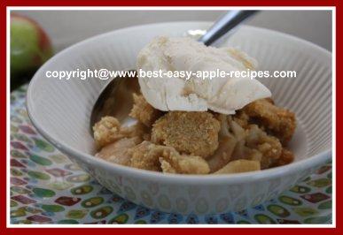Best Recipe for Apple Brown Betty Dessert
