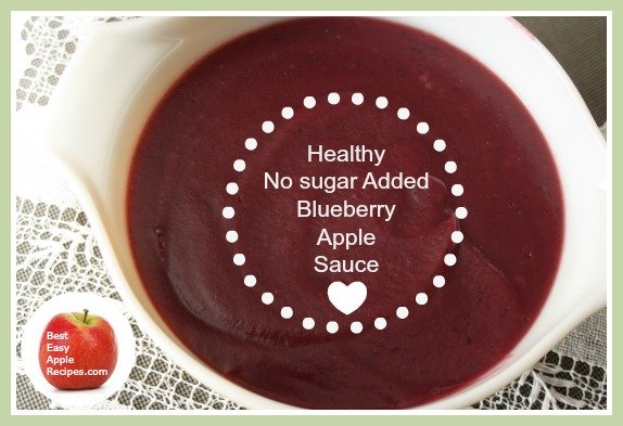 Blueberry Apple Sauce