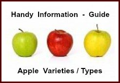 Information Guide to Different Apple Varieties and Types