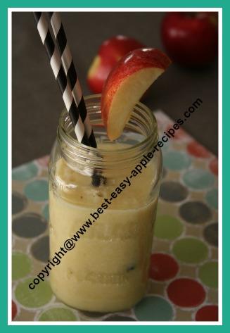 Apple Banana and Orange Smoothie