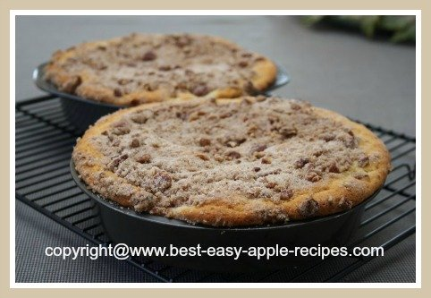 Best Apple Pecan Coffee Cake - Easy to Make