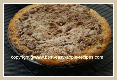 Apple Pecan Coffee Cake from Scratch