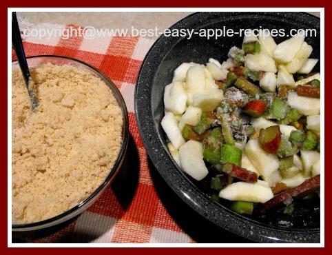 Apple Rhubarb Crisp Recipe Without Oatmeal