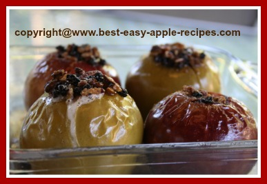 Baked Apples How to