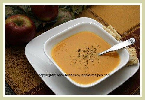 Butternut Cream Soup Recipe
