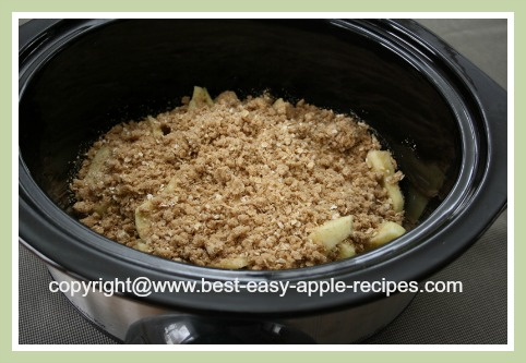 Crockpot Apple Crumble Recipes
