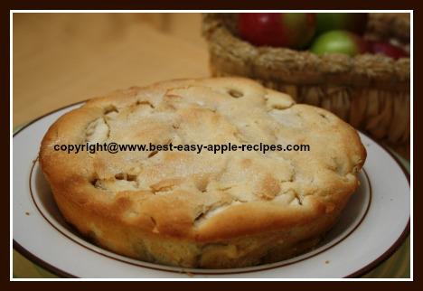 Easy Apple Cake with Yogurt