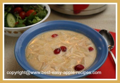Fall Thanksgiving or Christmas Soup Idea