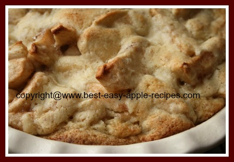 Fresh Apple Recipe Apple Cobbler Dessert