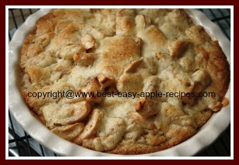 Homemade Apple Cobbler Recipe