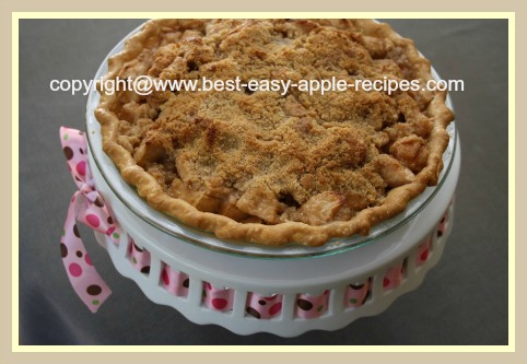 Homemade Dutch Apple Pie