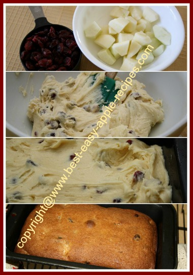 How to Make Apple Cranberry Bread