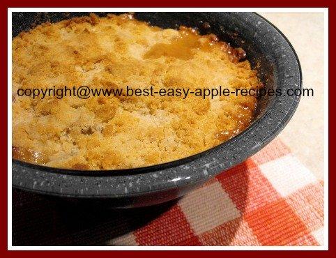 How to Make Apple Rhubarb Dessert Crisp