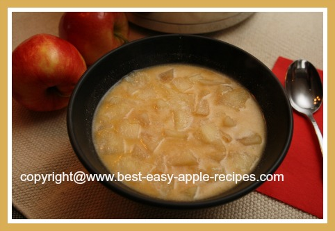 Hungarian Apple Soup Recipe