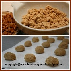 Make Cookies Dough with Apple Cider