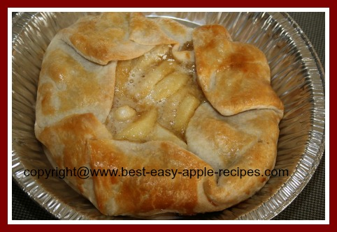Single Crust Apple Pie