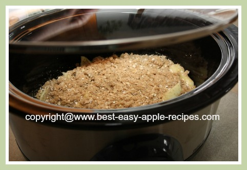 Slow Cooker Dessert Crumble Recipes