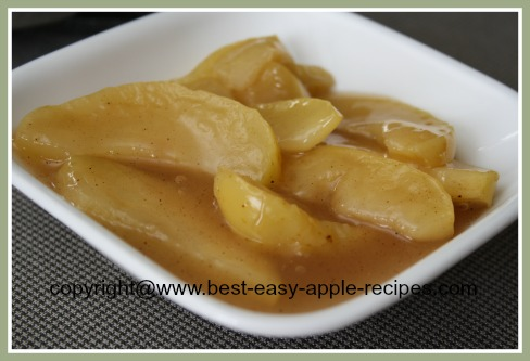 Stewed Apple Recipe