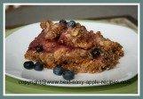 Gluten Free Apple Berry Crumble