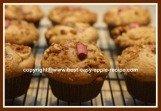 Apple Rhubarb Muffins