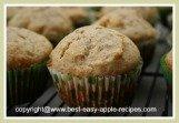 Apple Whole-Wheat Honey Muffins